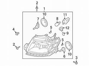Ford Taurus Nut  Support  Bracket  Bumper  Panel