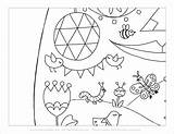 Easter Coloring Egg Giant Pdf Mrprintables 6pages Fichier sketch template