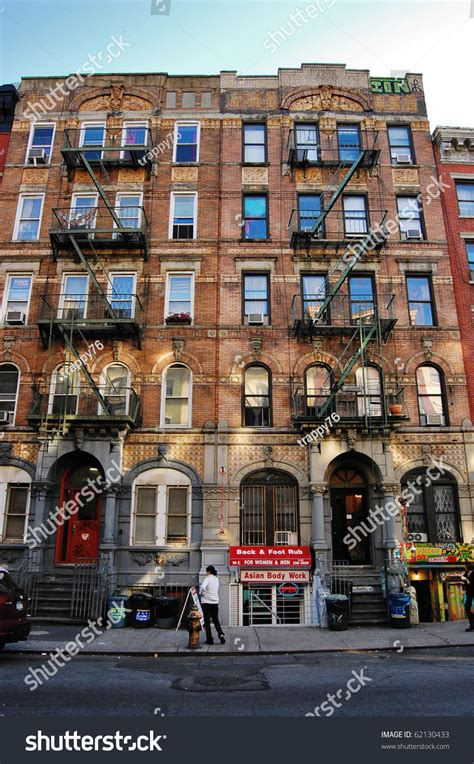 Appartments In The City by The Front Of A Apartment Building In New York City