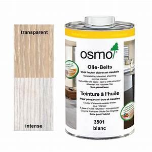 blanche teinture a l39huile osmo 3501 1l l39ame du bois With huile blanche pour parquet