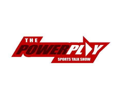 Sports Show Logo by Masculine Bold Logo Design For The Power Play