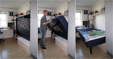 Murphy Bunk Beds Ikea by Hack An Ivar Murphy Bed Ikea Hackers Ikea Hackers