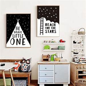 Reach Stars Can... Nursery Canvas Quotes