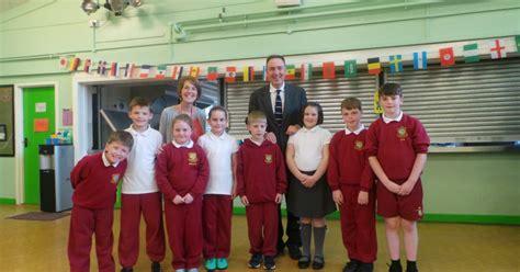 mp visits bryn bach primary school  hear  digital