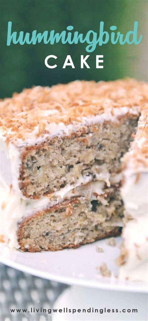 hummingbird cake recipe easy southern cake recipes