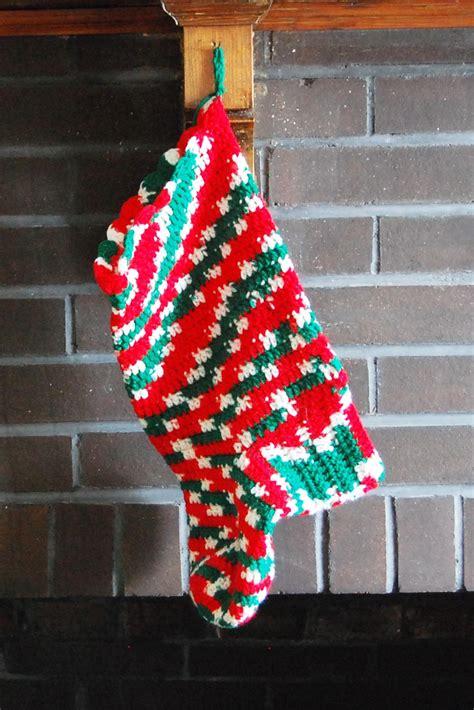 crochet christmas stocking favecraftscom