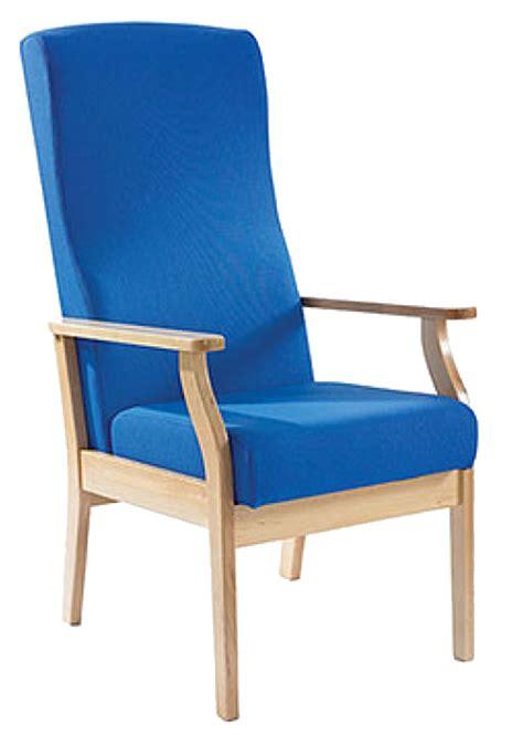blue wooden chair transparent background