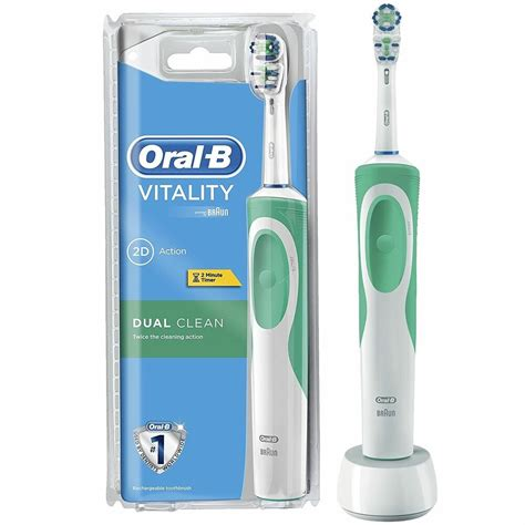 Oral-B Braun Vitality Dual Clean Electric Rechargeable