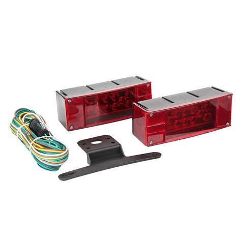 trailer light kits towsmart led low profile trailer light kit 1431 the home