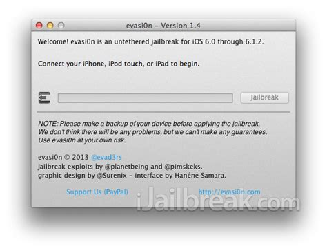 how to get into a disabled iphone how to jailbreak ios 6 1 2 untethered using evasi0n 1 4