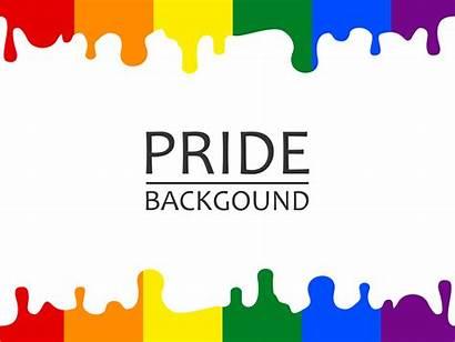 Pride Lgbtq Rainbow Dripping Clip Sgocciolatura Lgbt