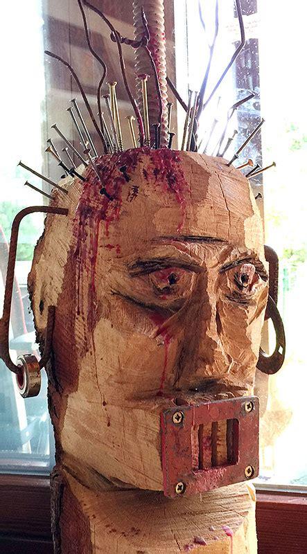 Carving – Skulpturen schnitzen mit der Kettensäge – Sabine