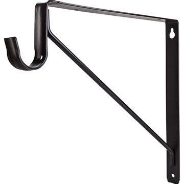 closet rod support restorers shelf rod support bracket for closet rods