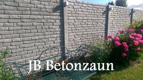 zäune beton sichtschutz zaun aus beton zaun und tor referenzen zaunteam