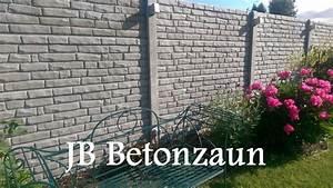 Zaun Aus Beton : gartenzaun betonzaun z une zaun gabionen sichtschutzzaun ~ A.2002-acura-tl-radio.info Haus und Dekorationen