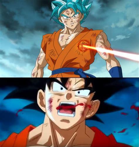 Goku Meme - goku vs laser know your meme