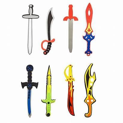 Swords Toy Ninja Foam Nerf Viking Children