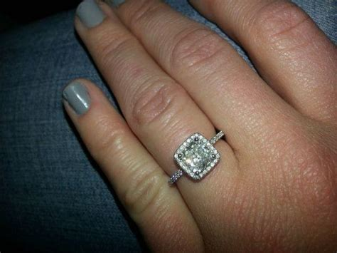 what is the best engagement ring setting for fat fingers quora