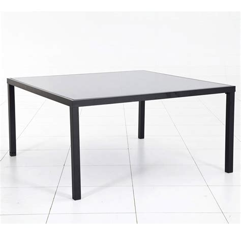 table carree de jardin table de jardin carr 233 e montezalo leroy merlin