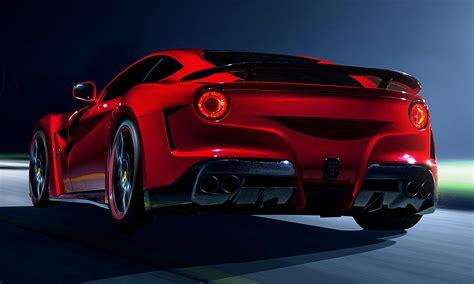 N Largo Ferrari F12 Widebody By Novitec Rosso Vs 599xx Vs