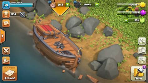 New Boat In Clash Of Clans by Clash Of Clans New Boat Update Loading And Crashing