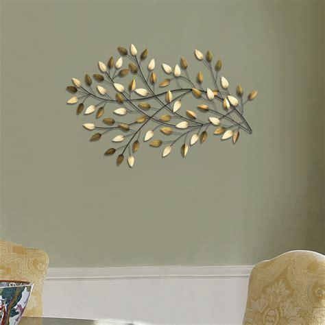 40 55 w x 2 56 d x 20 67 h. Blowing Leaves Wall Décor - Stratton Home Decor