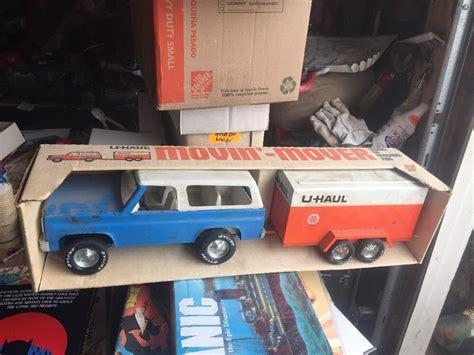Nylint U-haul Blue Chevy Blazer Truck U Haul Box Trailer