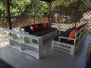 Pallet Patio Sofa Set Porch Furniture 101 Pallet Best Outdoor Furniture Made From Pallets