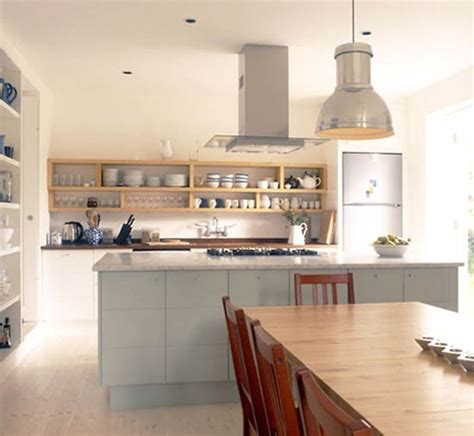 open shelving kitchen ideas retro modern kitchen decorating ideas open kitchen