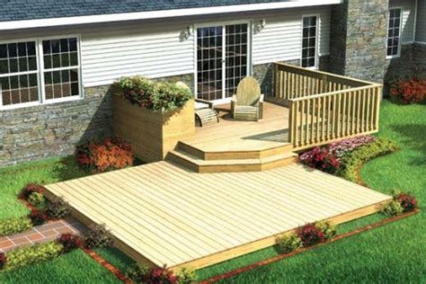 exteriors small deck design ideas for small