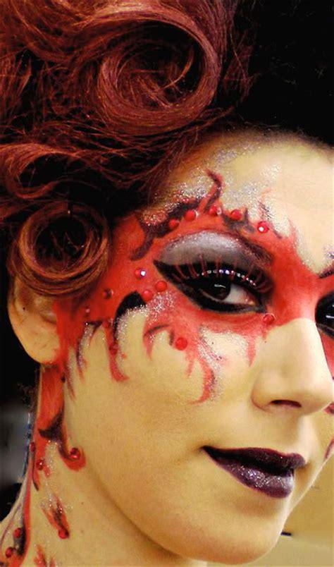 halloween devil makeup ideas  girls women  modern fashion blog