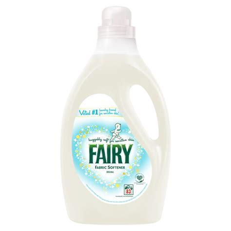 fairy fabric softener original  laundry bm