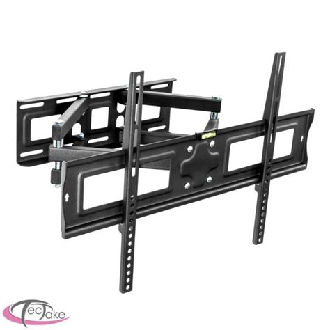 support mural tv inclinable et orientable support tv mural orientable et inclinable quot 32 65 quot fixation support tv avis et prix pas cher