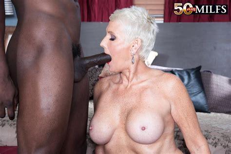 Blonde Milf Lexy Cougar Fucking Black Stud 1 Of 1