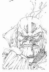 Thanos Pages Gauntlet Infinity Coloring Comic Deviantart Lineart Comics Marvel Sketch Template Cartoon Avengers Valiant Cartoons источник sketch template