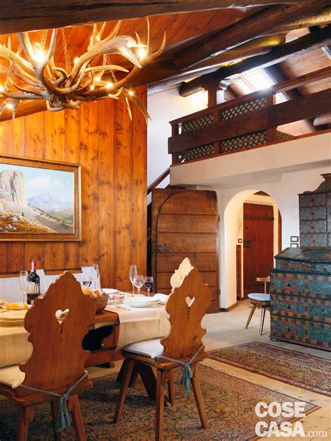 ladari per di montagna mansarda tutta legno nuova vita per la casa di montagna
