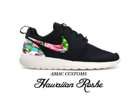 amac custom black sneakers customized sneaker amac customs hawaiian