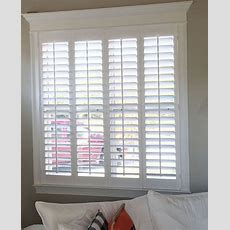 Beautiful Home, Trim Work And Our Plantation Shutters