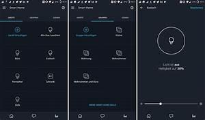 Licht Mit Alexa Steuern : alexa app mit neuem smart home bereich und routinen funktion ~ Lizthompson.info Haus und Dekorationen