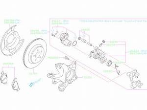 26696al01a - Disc Brake Pad Set  Rear   Brembo