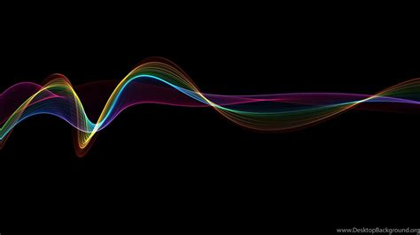 Abstract Black Wallpaper by Abstract Black Rainbow Line 1080 Hd Wallpapers Desktop
