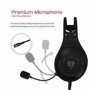 Nubwo N2 Gaming Headset For Xbox One Ps4 Playstation 4