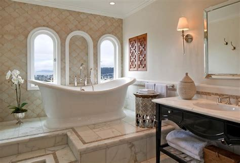 enchanting mediterranean bathroom designs