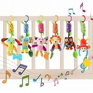 Autositz Für Baby : yikanwen baby kinderwagen spielzeug 6 teile pl schtier ~ Watch28wear.com Haus und Dekorationen