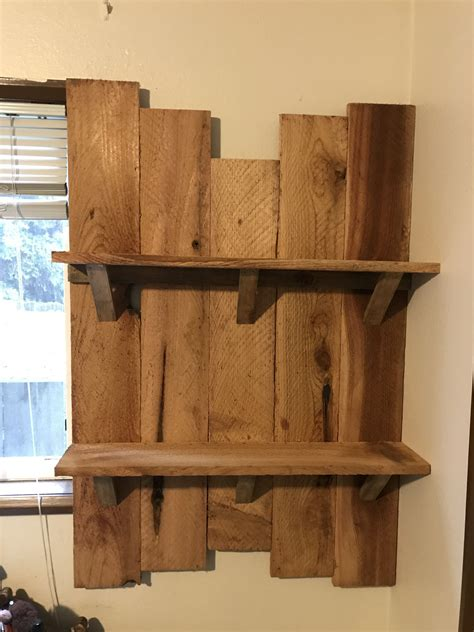 Shelving Projects by A Shelf I Made From Some Cedar Boards I Had