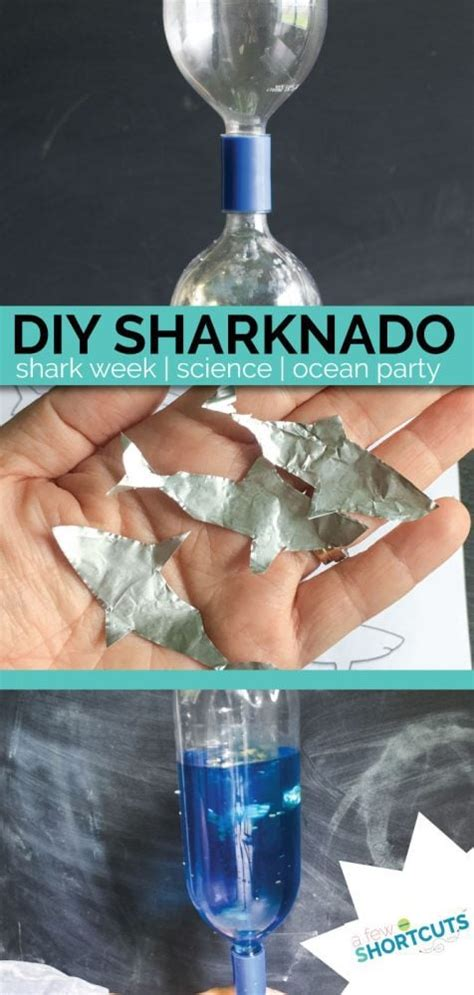 diy sharknado science fun  kids   shortcuts