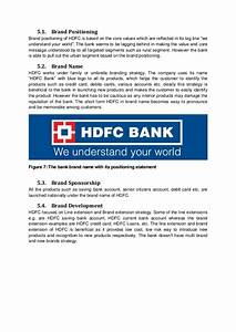 Marketing strategy an indian bank perspective