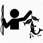 Fishing Fisherman Fish Icon Transparent Hook Bait