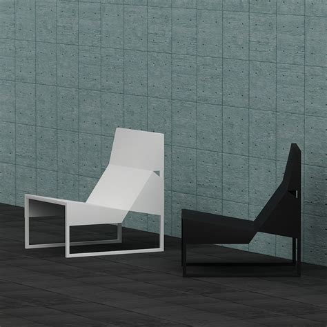 chaise ée 60 3d paper lounge chair high quality 3d models