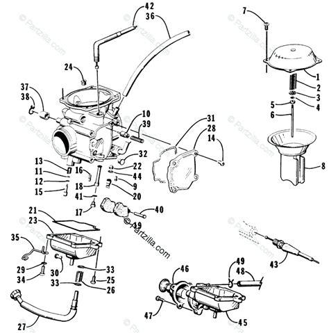 Tiger Shark Wiring Diagram by Arctic Cat Tigershark Parts Lookup The Best Image Cat